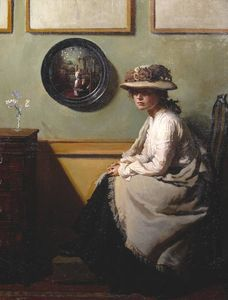 William Newenham Montague Orpen - der spiegel