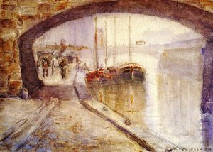 Frederick Carl Frieseke - Misty Morning auf der Seine