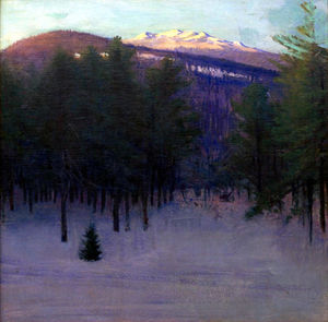 Abbott Handerson Thayer - Monadnock im Winter