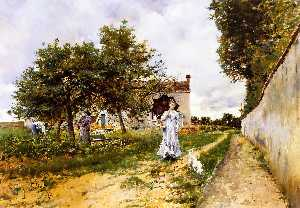 Giovanni Boldini - The Morning Stroll