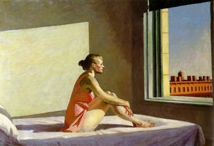 Edward Hopper - Morgensonne