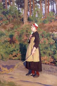Thomas Cooper Gotch - Mother Goose