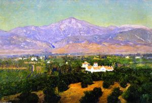 Theodore Clement Steele - Monte San Bernardino, von Smileys Heights, Redlands