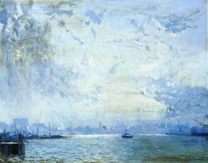 Arthur Clifton Goodwin - Die Mystic River Docks
