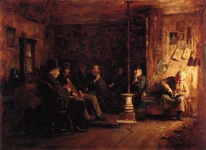 Jonathan Eastman Johnson - der `nantucket` schule von philosophie