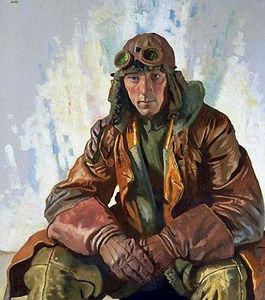 William Newenham Montague Orpen - Der NCO-Pilot, RFC (auch als Flight Sergeant WG Bennett bekannt)