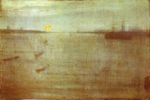James Abbott Mcneill Whistler - Nocturne: Blau und Gold - Southampton Water
