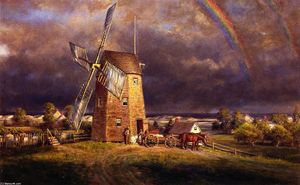 Edward Lamson Henry - Old Haken Mill, East Hampton