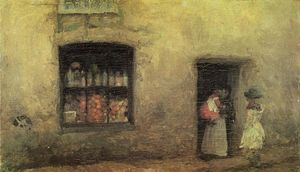 James Abbott Mcneill Whistler - Eine Orange Hinweis: Sweet Shop