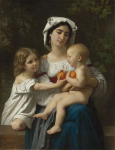 William Adolphe Bouguereau - Die Orangen