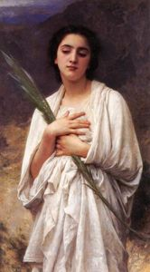 William Adolphe Bouguereau - Die Palmenblätter