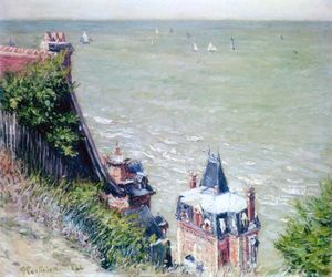 Gustave Caillebotte - Rosa Villas at Trouville