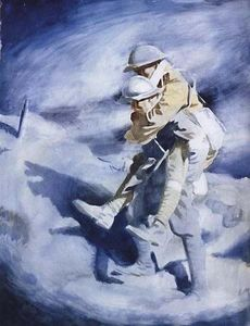William Newenham Montague Orpen - Poilu und Tommy
