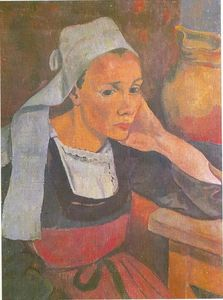 Paul Serusier - Portrait de Marie Lagadu
