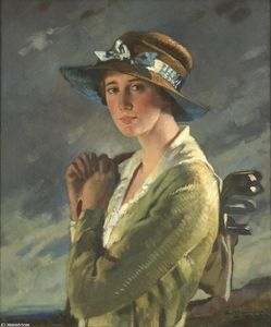 William Newenham Montague Orpen - Portrait of Dolly Stiles