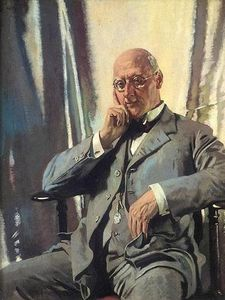 William Newenham Montague Orpen - porträt von mr francis henry edward livesay