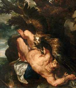 Peter Paul Rubens - Der gefesselte Prometheus