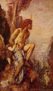 Gustave Moreau - Prometheus in Chains