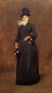 William Merritt Chase - Bereit für a gang : beatrice clough bachmann
