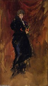 James Abbott Mcneill Whistler - Red and Black