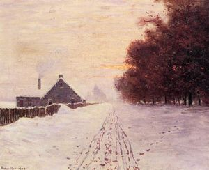 Lowell Birge Harrison - Red Oaks