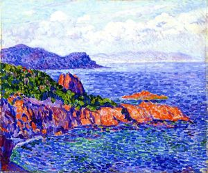 Theo Van Rysselberghe - rot steine le Trayes