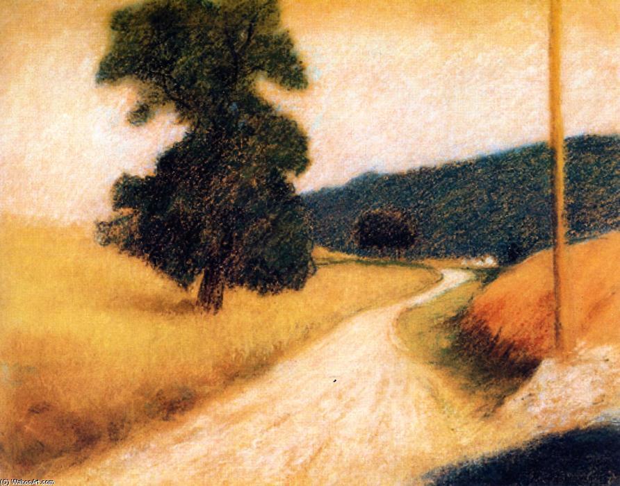 die Straße, zeichnung von Federico Zandomeneghi (1841-1917, Italy)