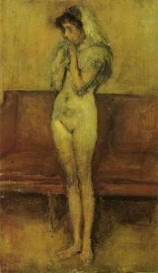 James Abbott Mcneill Whistler - Rose und Braun : la cigale