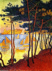Paul Signac - Segel und Pines