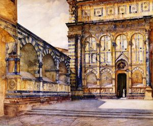 Henry Roderick Newman - Santa Maria Erzählung , Florence , Italy