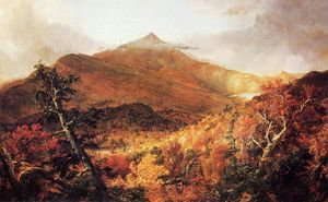 Thomas Cole - Schroon Berg, Adirondacks, Essex County, New York, nach einem Sturm