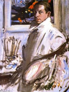 Francis Campbell Boileau Cadell - Selbstportrait