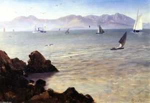 Albert Bierstadt - San Francisco Bay