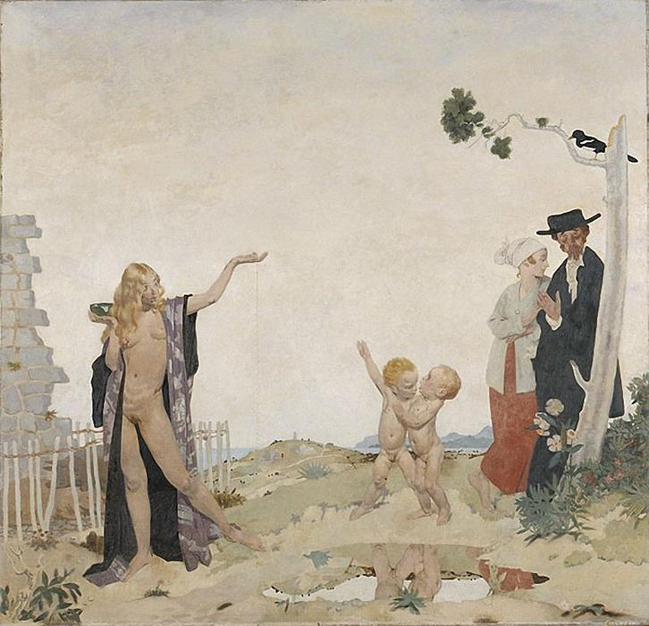 Aussaat neues Saatgut, 1913 von William Newenham Montague Orpen (1878-1931, Ireland)