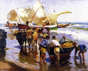 Mathias Joseph Alten - Spanish Sardine Fishers