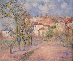 Gustave Loiseau - Frühling in Herouville