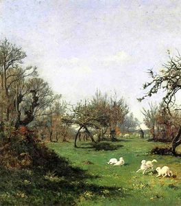 William Lamb Picknell - Frühling in Pont Aven
