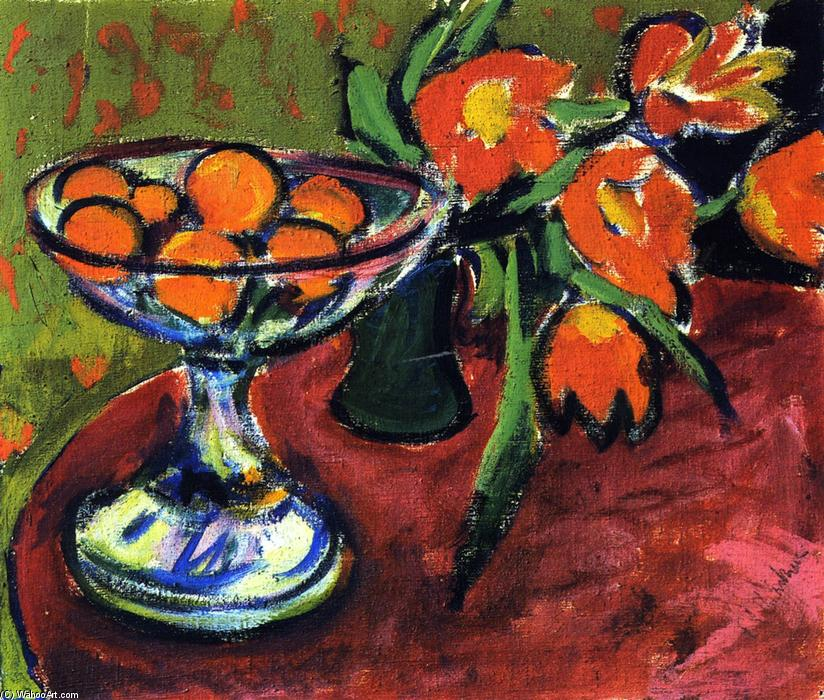Famous Painting Of Tulips