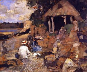 James Guthrie - Str . Mary's Insel , Kirkcudbright