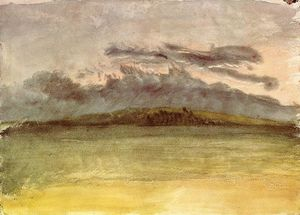 William Turner - Storm-Clouds : Sonnenuntergang