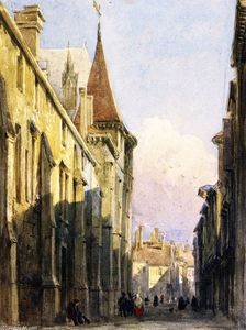 David Cox - Street in Beauvais