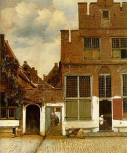 Jan Vermeer - Street in Delft