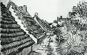 Vincent Van Gogh - Street in Sainte-Maries
