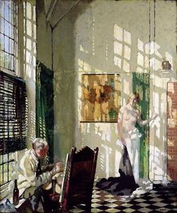 William Newenham Montague Orpen - Das Studio