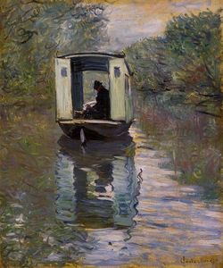 Claude Monet - das studioboot