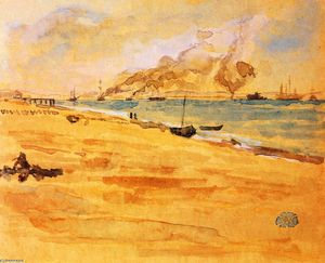 James Abbott Mcneill Whistler - Studieren für Mund der River----
