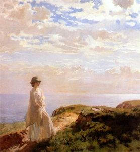William Newenham Montague Orpen - a sommer nachmittag