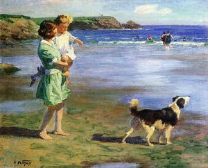 Edward Henry Potthast - Sommer Pleasures