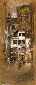 James Abbott Mcneill Whistler - Unter der Frari