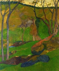 Paul Serusier - Unterholz in Huelgoat
